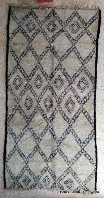 Beni Ouarain  moroccan rugs BO16012A