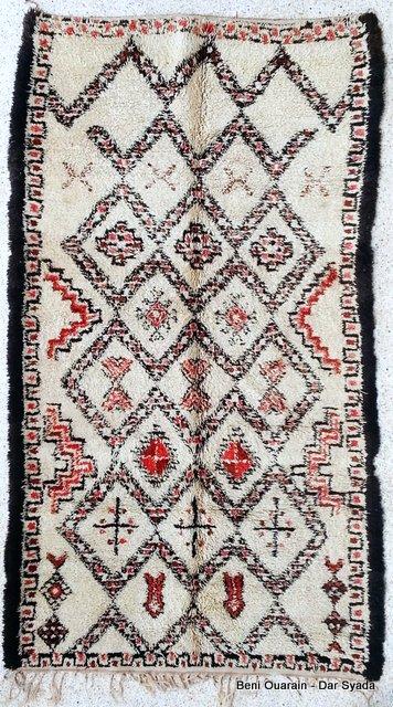 Referenssit Beni Ouarain moroccan rugs BO15381V FINNEGAN