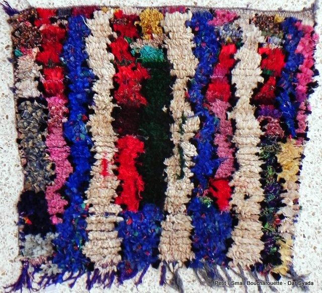 Archive-Sold Boucherouite moroccan rugs TT10625