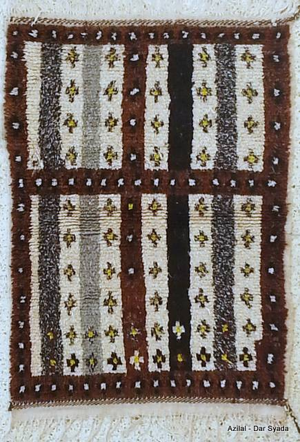 WOOL Rugs - BENI OURAIN Azilal and Ourika moroccan rugs AZ18217N-70  euros 80 $