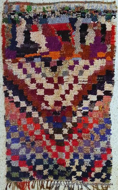 Boucherouite  moroccan rugs L19115 G2
