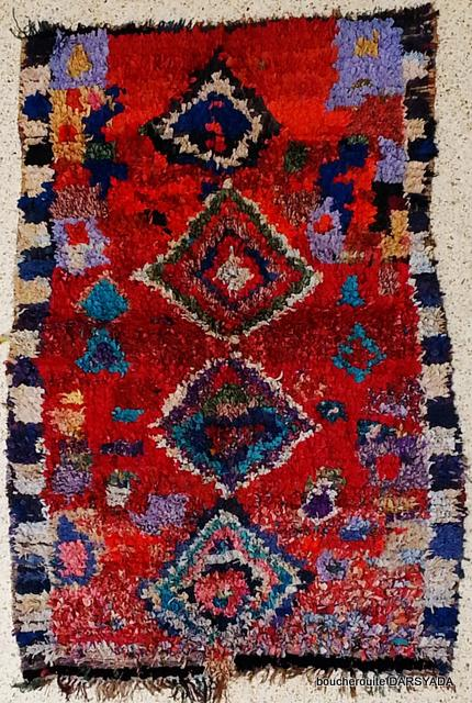 Archive-Sold Boucherouite moroccan rugs TC15029