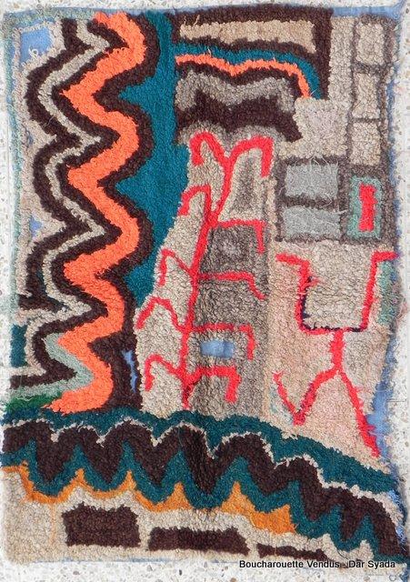 Boucharouette  Berber Teppich DSCN2235