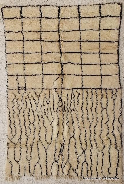 Beni Ouarain  moroccan rugs BO19649