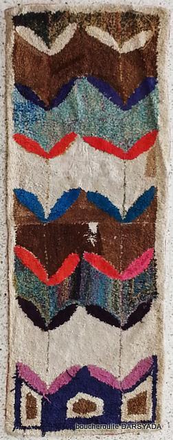 Boucherouite  moroccan rugs TT19671 Laura finland