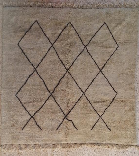 Beni Ouarain  moroccan rugs BO20325 Reserve Maitre Picoche
