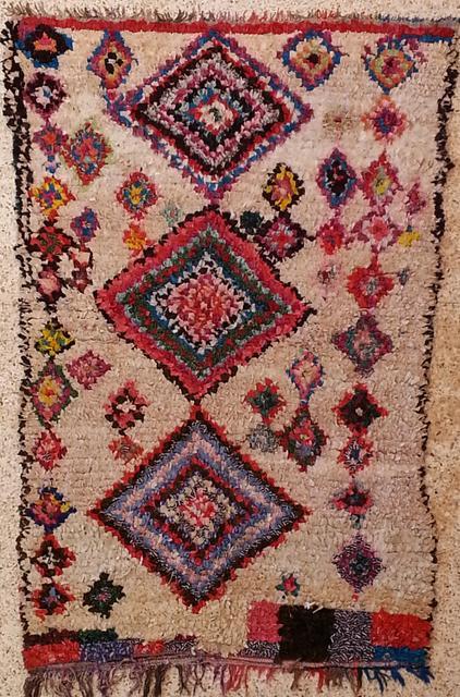 Boucharouette  Berber Teppich L20382