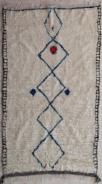 Azilal and Ourika  moroccan rugs AZ21003