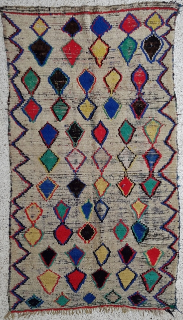 Archive-Sold Azilal and Ourika moroccan rugs AZC21285