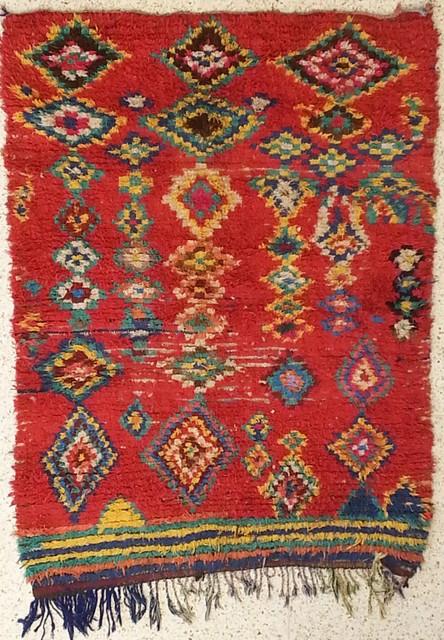 Boucharouette  Berber Teppich T22235 Lapointe