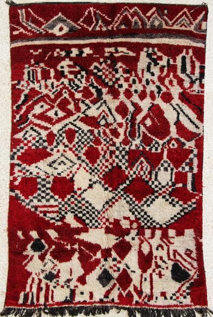 Beni Ouarain  moroccan rugs BJ23584