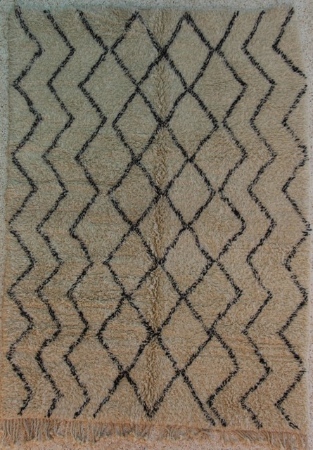 Referenssit Beni Ouarain moroccan rugs BO24323