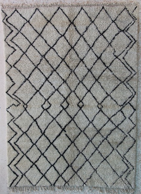 Referenssit Beni Ouarain moroccan rugs BO24342