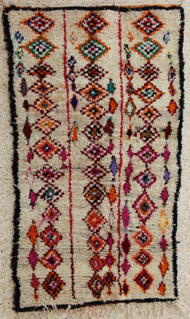Azilal and Ourika  moroccan rugs AZ24394