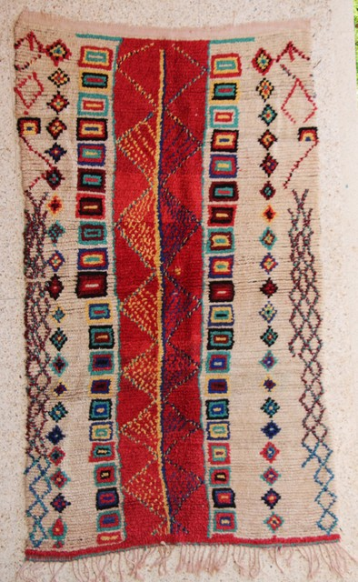 Archive-Sold Azilal and Ourika moroccan rugs AZC26231