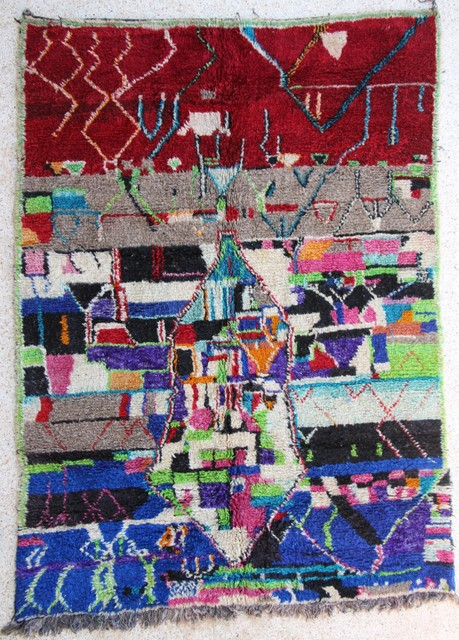 Referenssit Beni Ouarain moroccan rugs GH26472