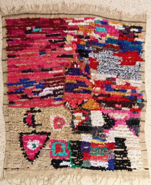 Boucharouette  Berber Teppich T27123
