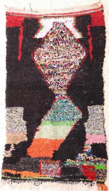 Boucherouite Medium moroccan rugs TC27365