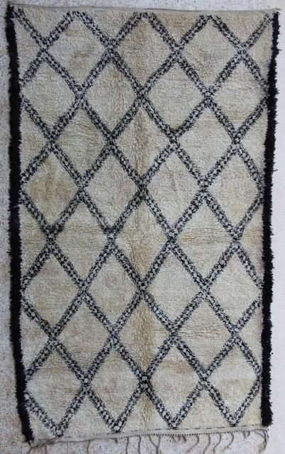 Referenssit Beni Ouarain moroccan rugs BO27653 carnet de mode