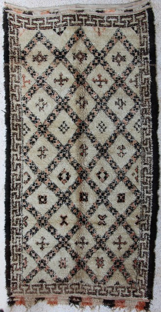 Referenssit Beni Ouarain moroccan rugs BO27657