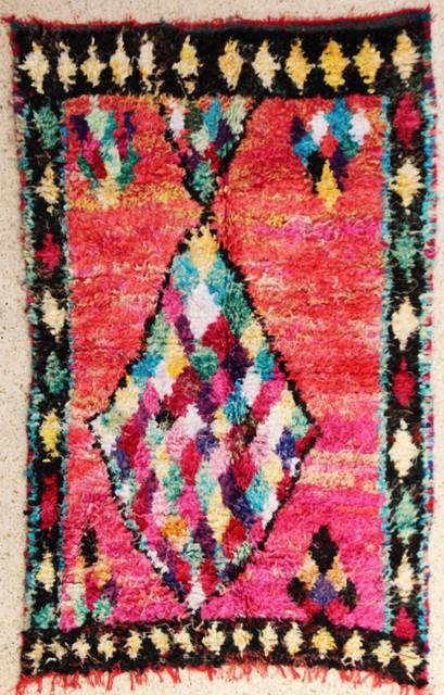 Archive-Sold Boucherouite moroccan rugs TC28244