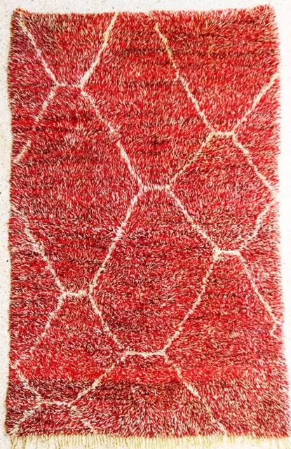 Referenssit Beni Ouarain moroccan rugs BO28299 galerie 2