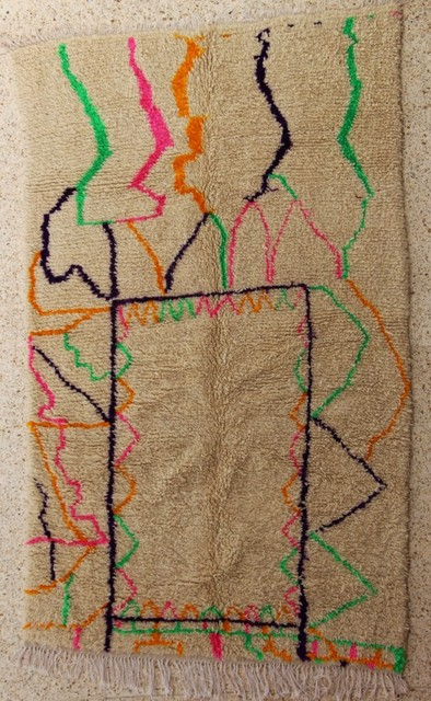 Archive-Sold Azilal and Ourika moroccan rugs BO28384/MA TEREZA LUKASOVA
