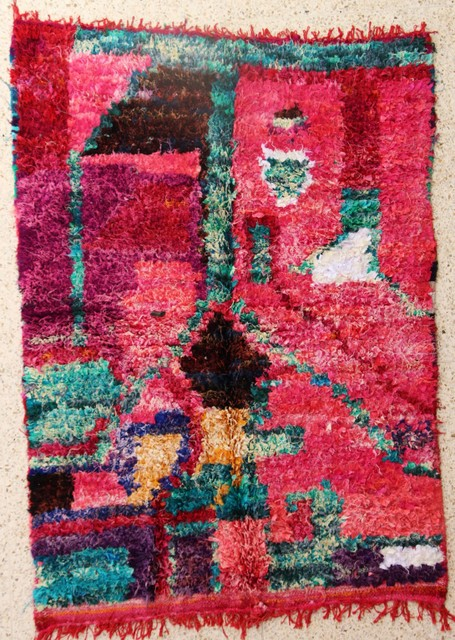 Archive-Sold Boucherouite moroccan rugs TC28504 Seguia