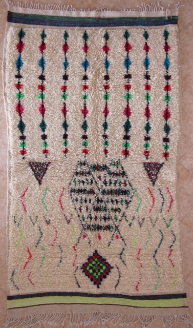 Referenssit Azilal and Ourika moroccan rugs AZ29001 175 euros  198 usd