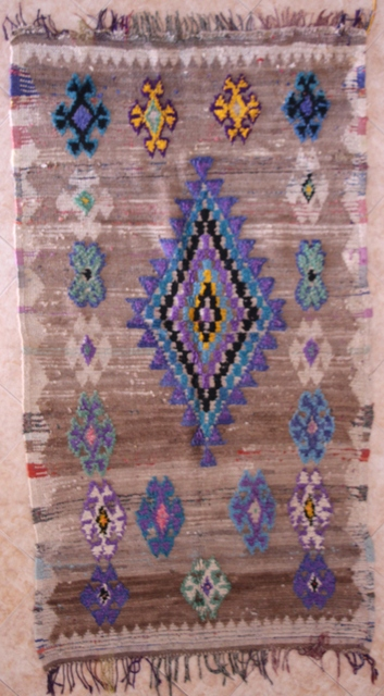 Archive-Sold Azilal and Ourika moroccan rugs AZ29084