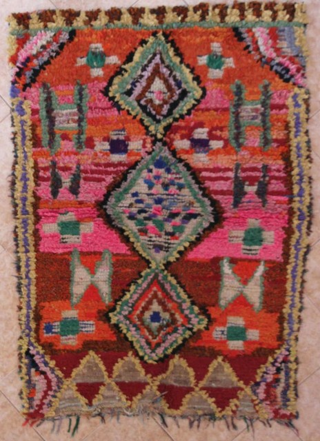 Archive-Sold Azilal and Ourika moroccan rugs AZ29281