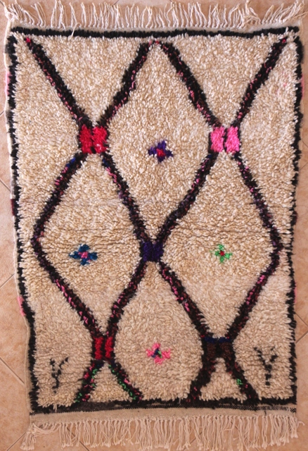 Referenssit Azilal and Ourika moroccan rugs AZ29363
