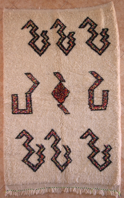 WOOL Rugs - BENI OURAIN Azilal and Ourika moroccan rugs AZ30091-85  euros 96 $