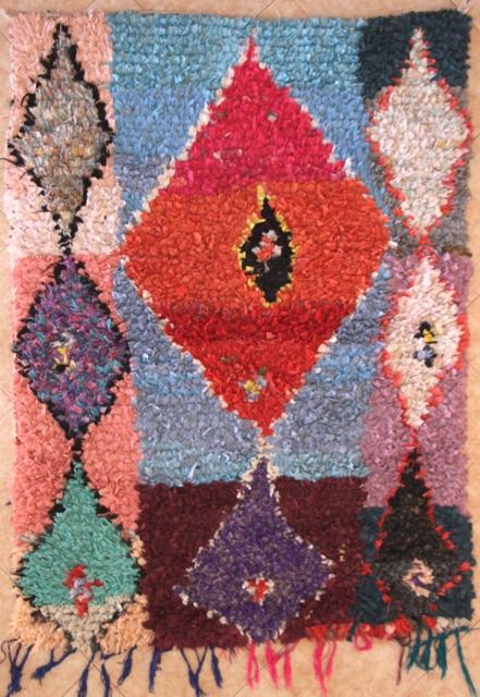 Boucherouite Medium moroccan rugs TC30140