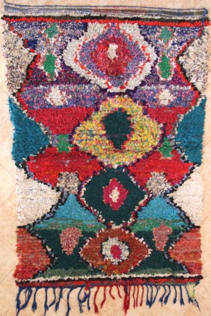 Archive-Sold Boucherouite moroccan rugs Ait Bouli TC30147