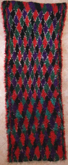 Archive-Sold Boucherouite moroccan rugs C31326