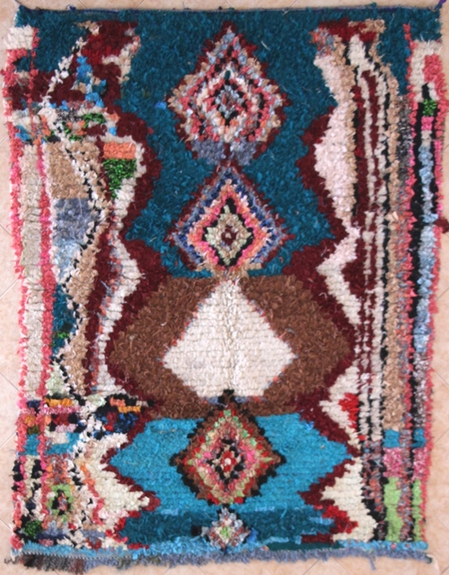 Boucherouite Medium moroccan rugs TC31359