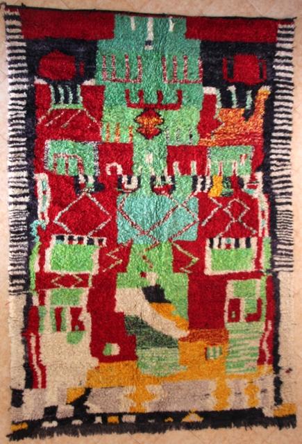 Beni Ouarain  moroccan rugs GH30551