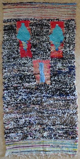 BOUCHEROUITE Collector Boucherouite moroccan rugs TC31542
