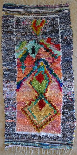 BOUCHEROUITE Collector Boucherouite moroccan rugs TC31573