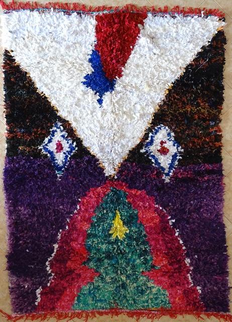 BOUCHEROUITE Collector Boucherouite moroccan rugs TC31588
