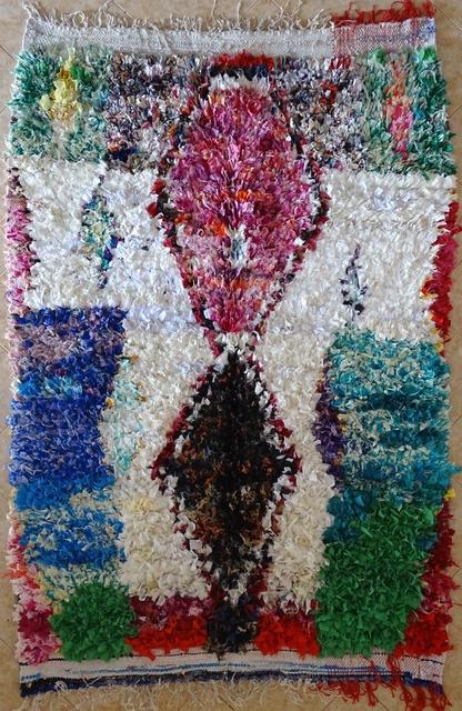 BOUCHEROUITE Collector Boucherouite moroccan rugs TC31595