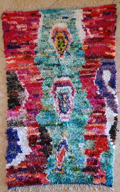 Boucherouite Collector rugs moroccan rugs TC31609