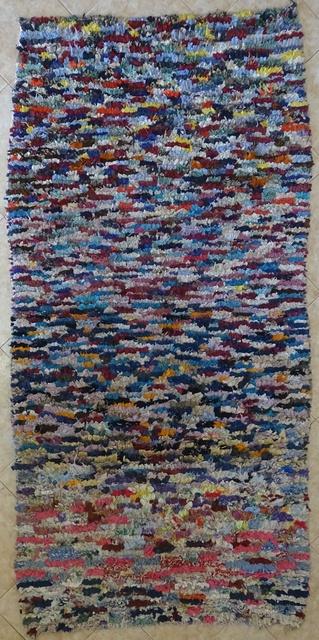 BOUCHEROUITE Boucherouite Medium moroccan rugs T31640