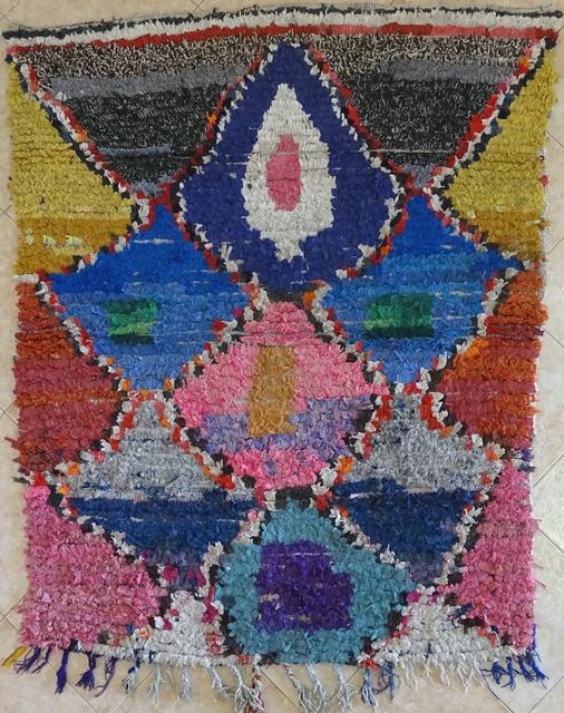 Archive-Sold Boucherouite moroccan rugs TT31684