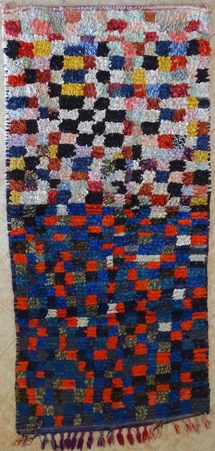 BOUCHEROUITE Boucherouite Medium moroccan rugs T31686