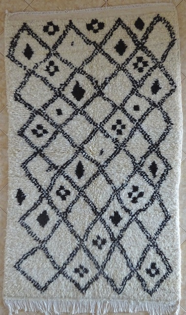 Archive-Sold Azilal and Ourika moroccan rugs AZ31904