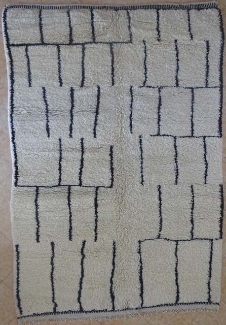 Archive-Sold Beni Ouarain moroccan rugs BO31971 passion berbere