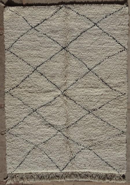 Referenssit Beni Ouarain moroccan rugs BO33109/MA  au maroc