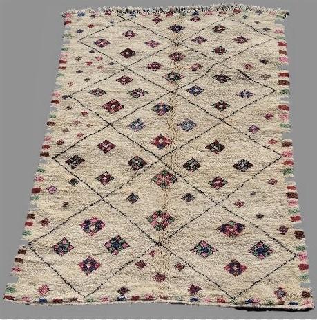 Referenssit Beni Ouarain moroccan rugs BO33119 au maroc